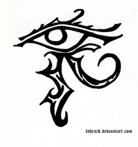 15 anubis eye tattoo designs and images. Black Bedroom Furniture Sets. Home Design Ideas