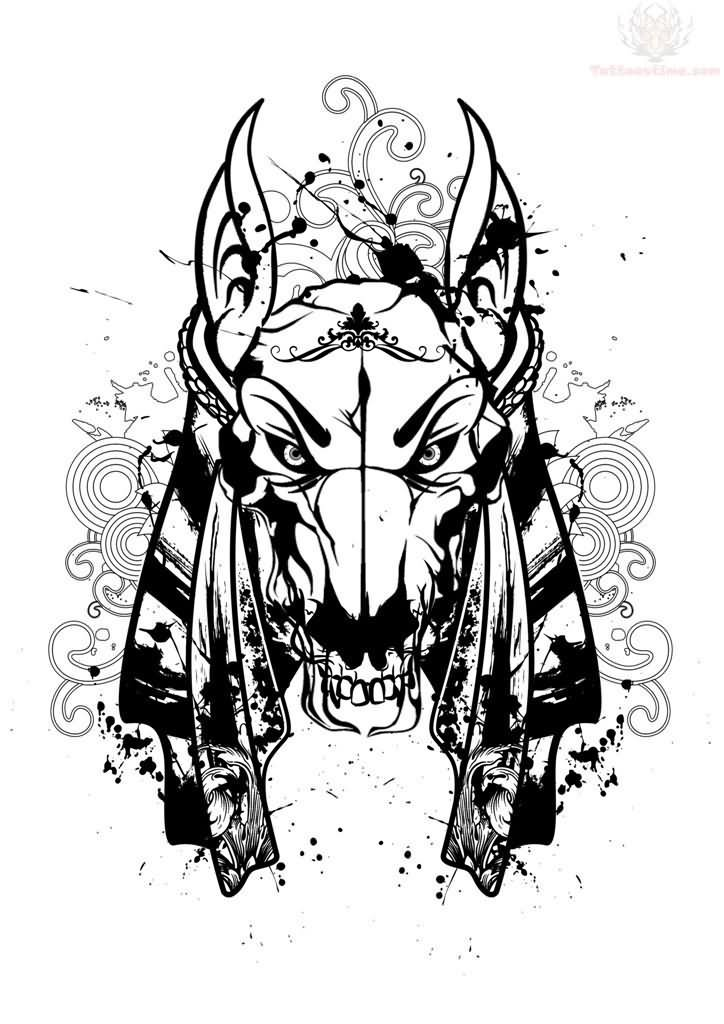dde674c0d 30+ Anubis Head Tattoos Design And Picture Ideas
