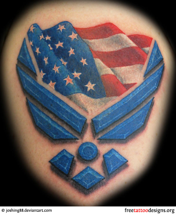 26+ Air Force Military Tattoos