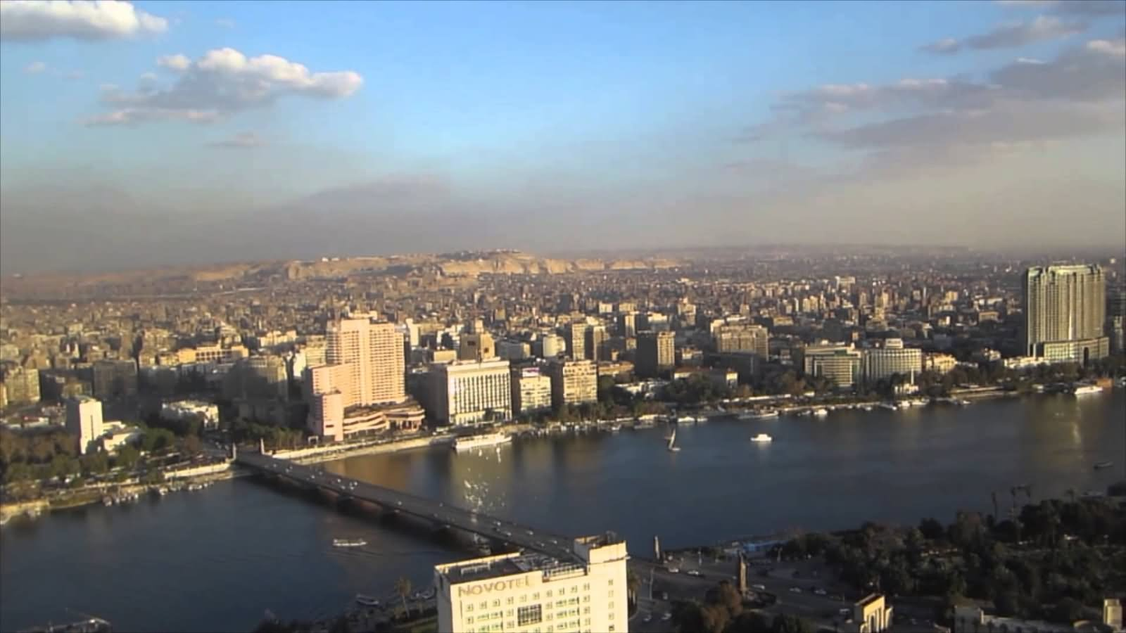 View Of The Cairo City From The Cairo Tower