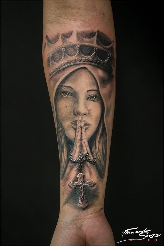 19+ Saint Mary Mother Of God Tattoos Designs