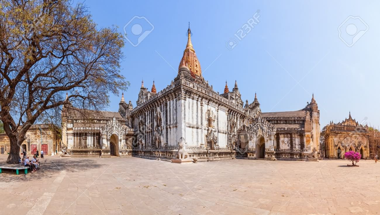 Ancient Ananda Temple Picture
