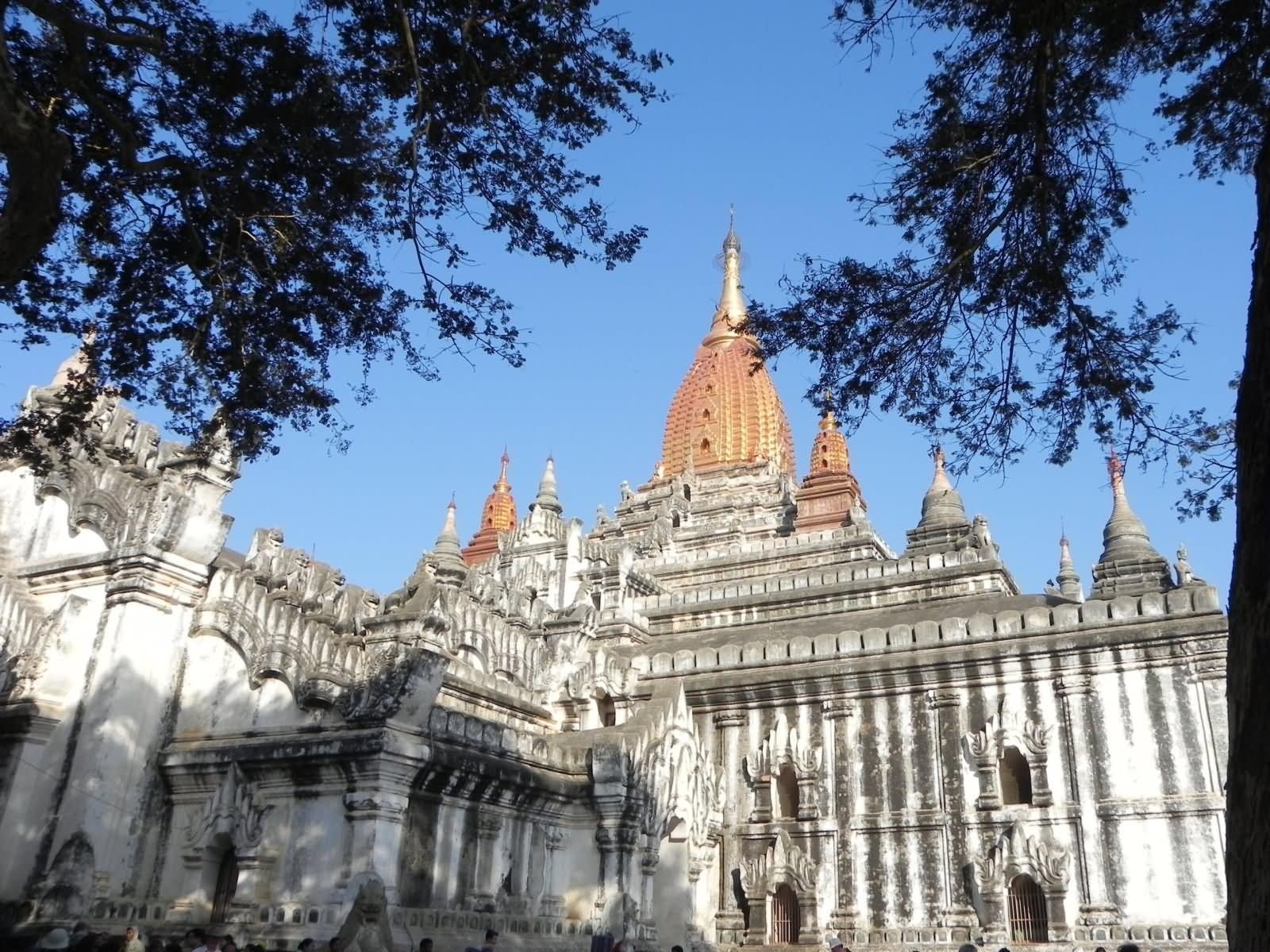 Beautiful View Of The Ananda Temple, Bagan