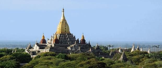 Beautiful Image Of The Ananda Temple, Myanmar