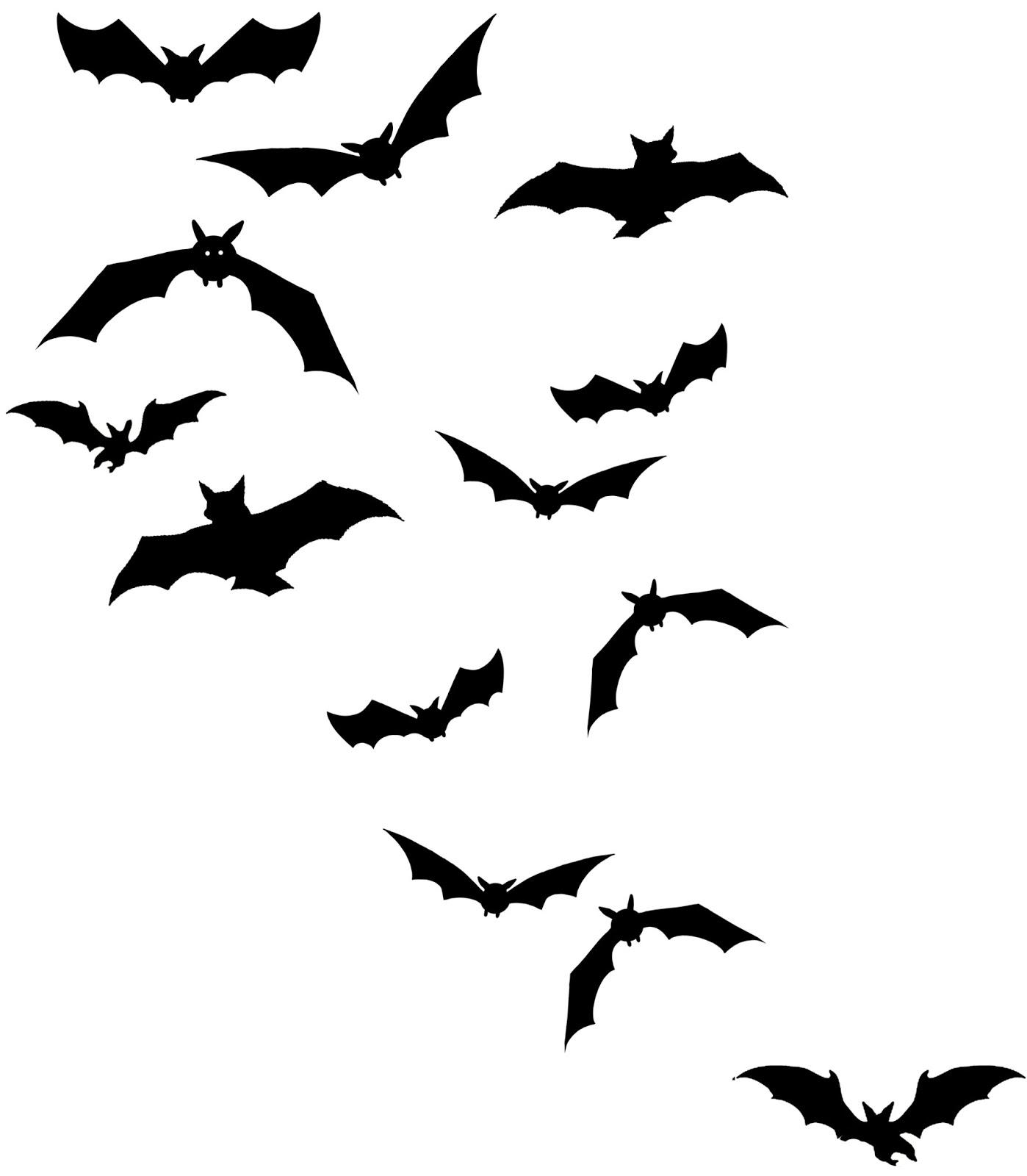 Black Vampire Bats Tattoo Design