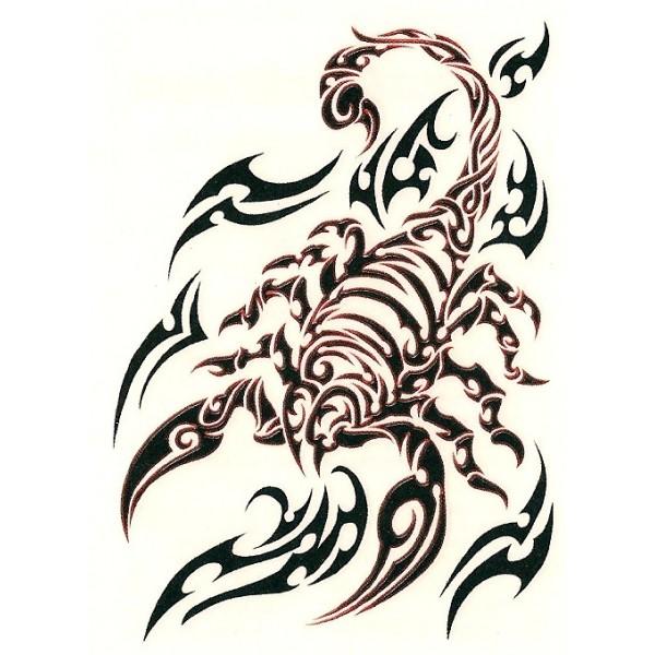 Tribal scorpion tattoos - photo#12
