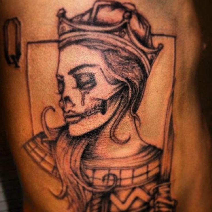 Tattoo Designs Queen: 35+ Amazing Queen Tattoos