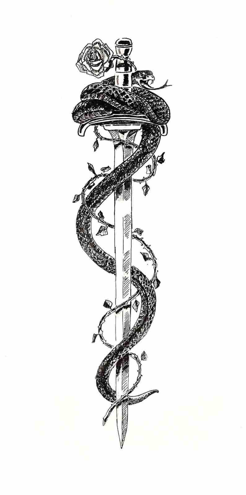 20 samurai sword tattoos and ideas for Sword tattoos tumblr