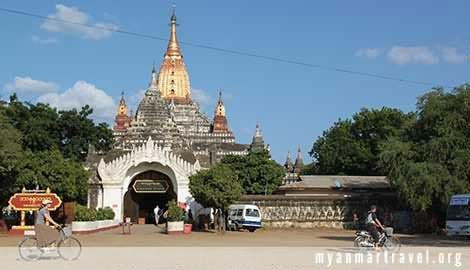 Entrance Of The Ananda Temple, Bagan, Myanmar