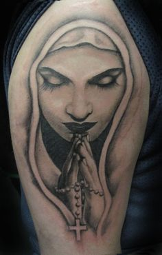 19 Saint Mary Mother Of God Tattoos Designs