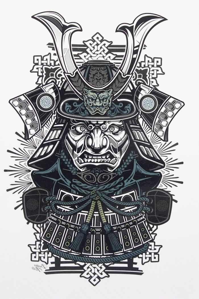 Samurai Outline Tattoo Wiring Diagrams