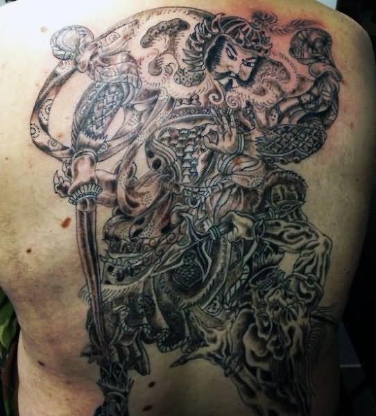 10+ Samurai Tattoos On Full Back