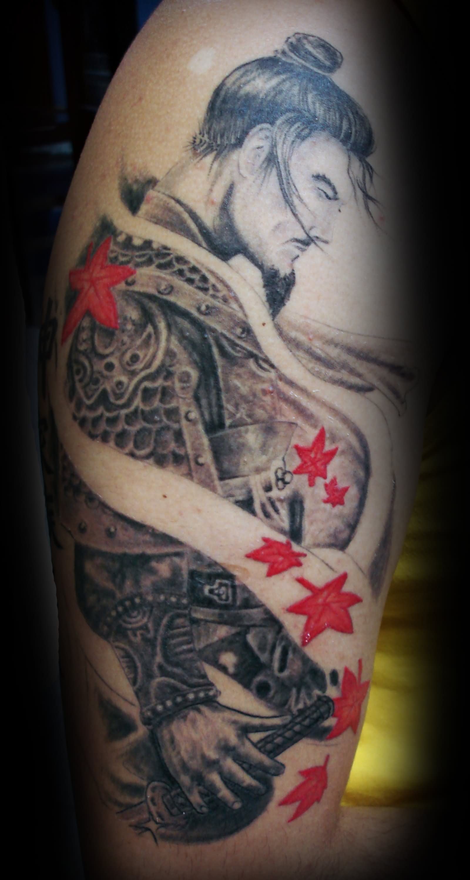 51 awesome samurai tattoos for Japanese sleeve tattoos meanings