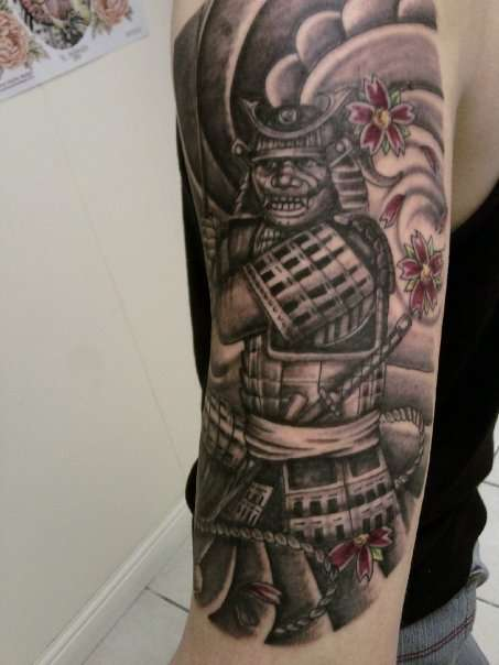32+ Samurai Warrior Tattoo