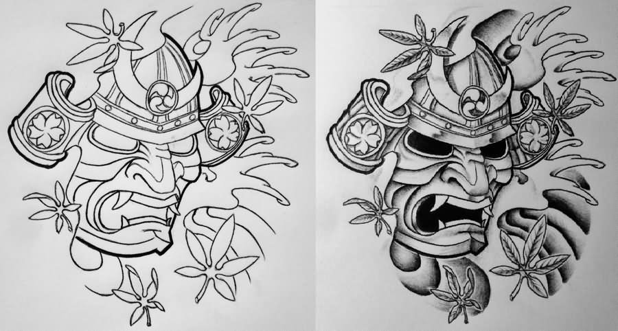 18 Samurai Tattoo Designs