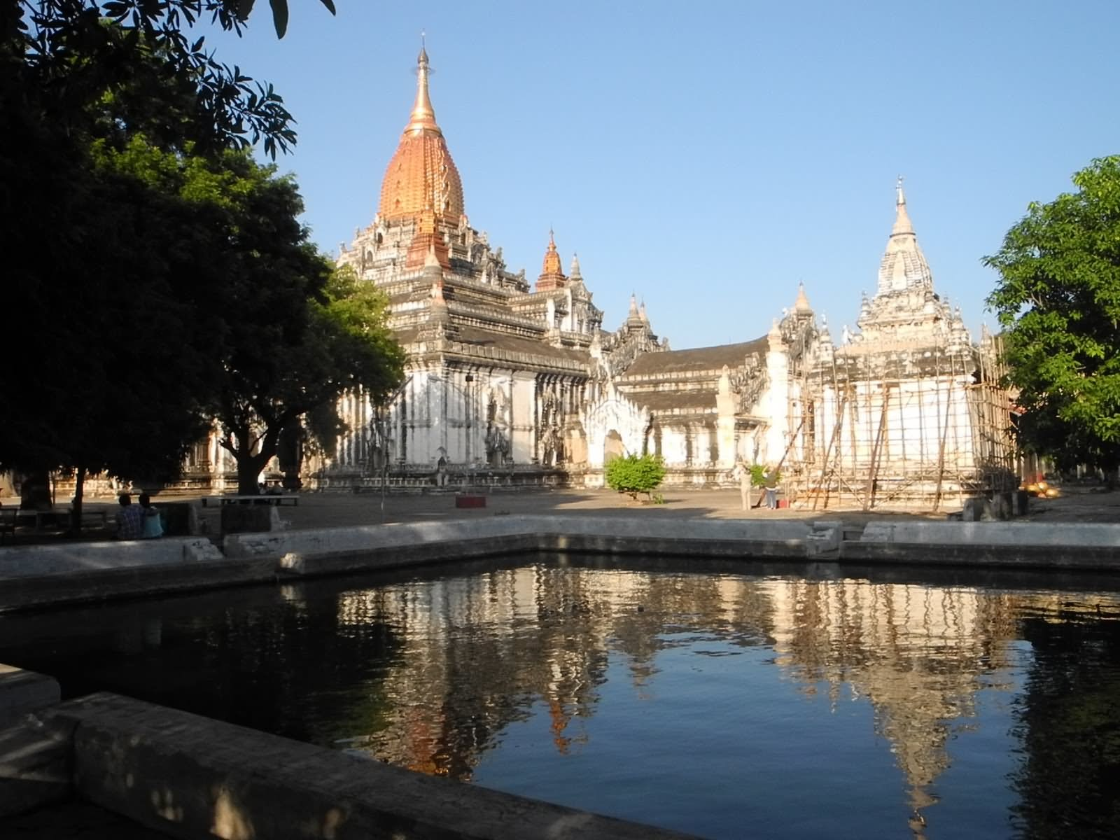 Pond Inside The Ananda Temple