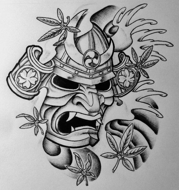 18+ Samurai Tattoo Designs