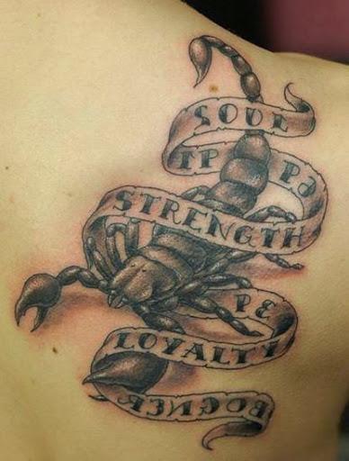 32 Nice Scorpion Tattoos
