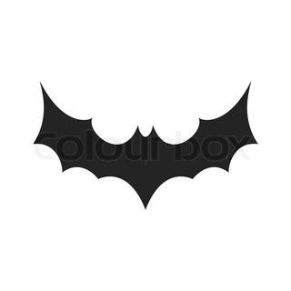 132993b94ffec Silhouette Vampire Bat Tattoo Design