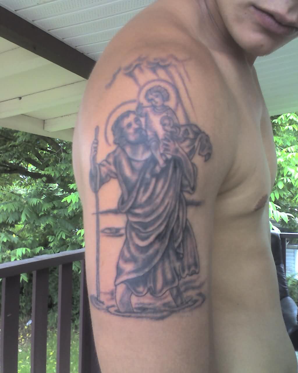 29 religious saint christopher tattoos