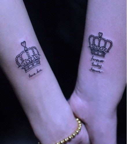 11+ King And Queen Tattoos For Couple