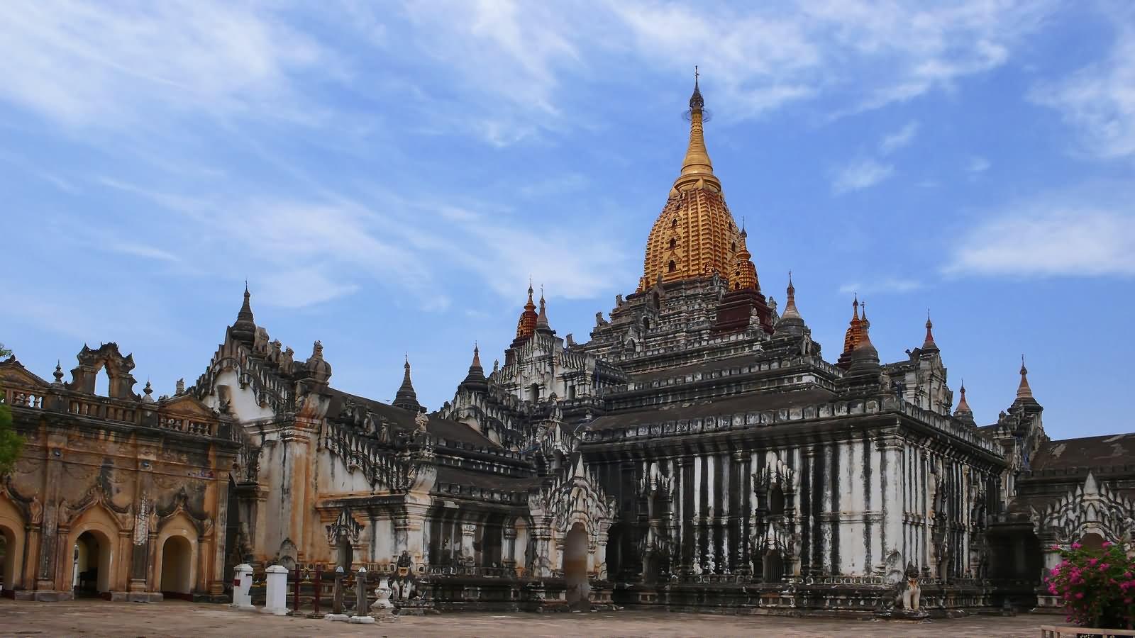 The Ananda Temple In Myanmar