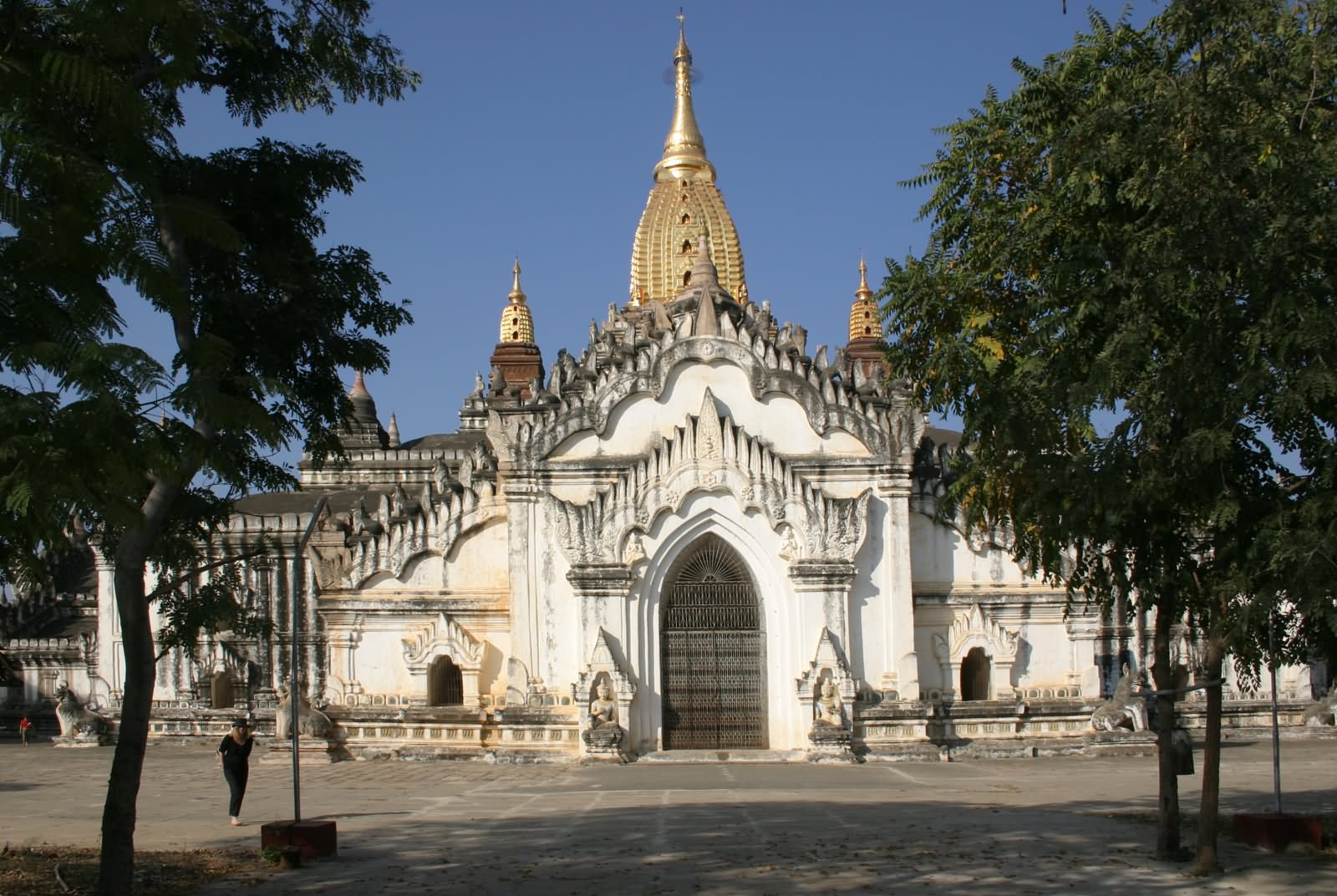 The Front Entrance Of The Ananda Temple, Bagan