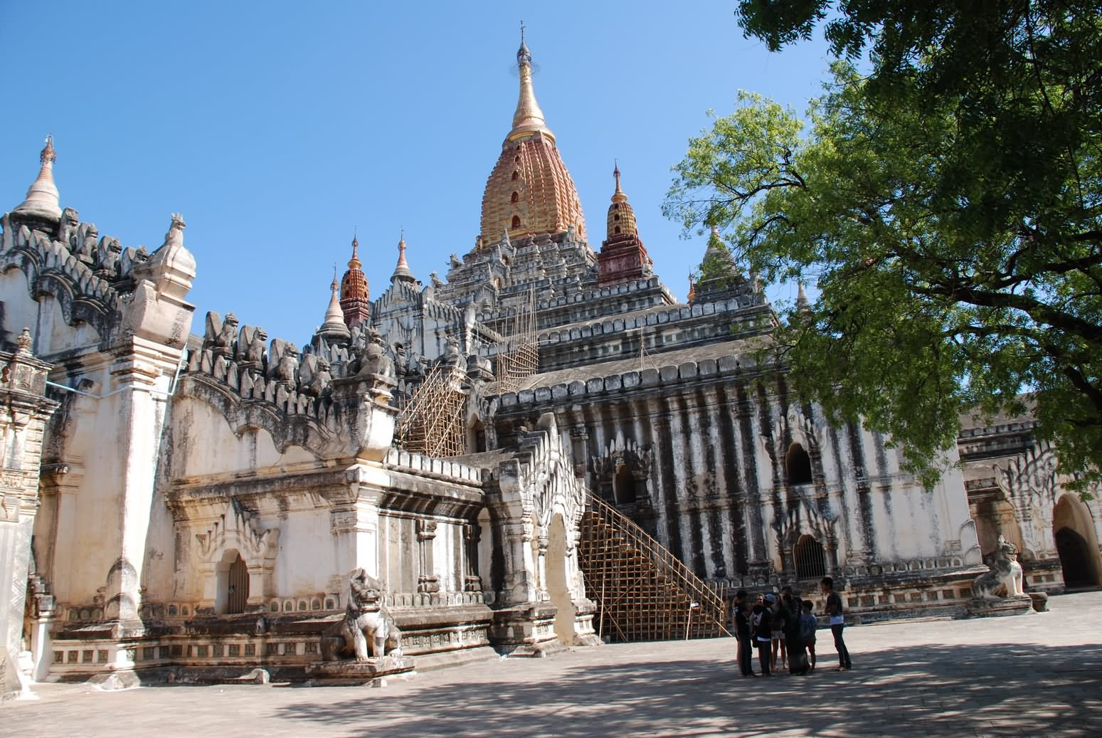 The Most Important Temple Of Bagan The Ananda Temple