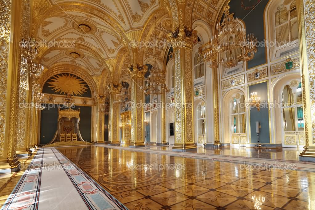 20 incredible interior view images of moscow kremlin russia for Pictures inside