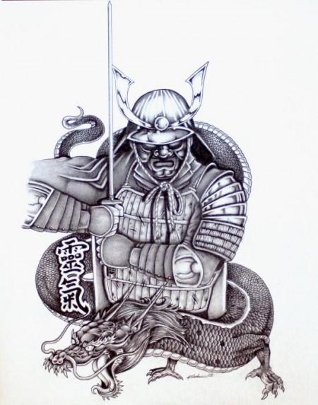 28 Traditional Samurai Tattoos