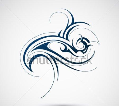 23 tribal wave tattoos. Black Bedroom Furniture Sets. Home Design Ideas