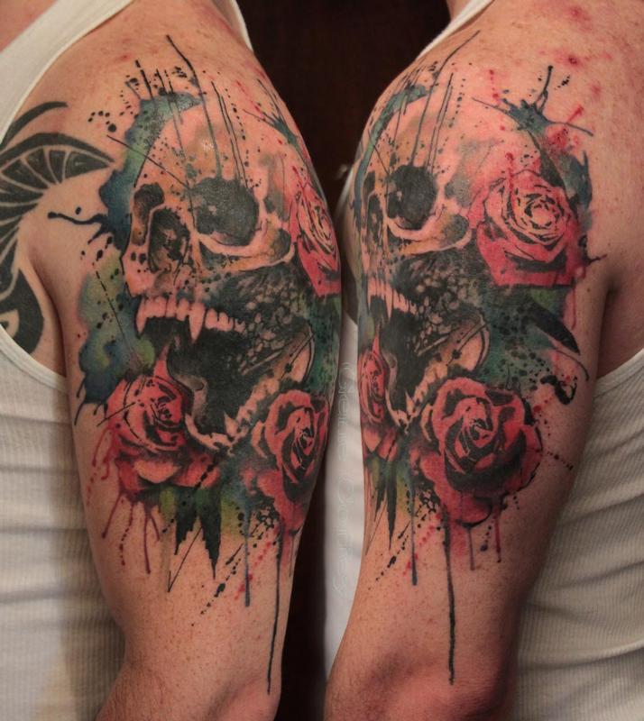 23+ Vampire Skull Tattoos