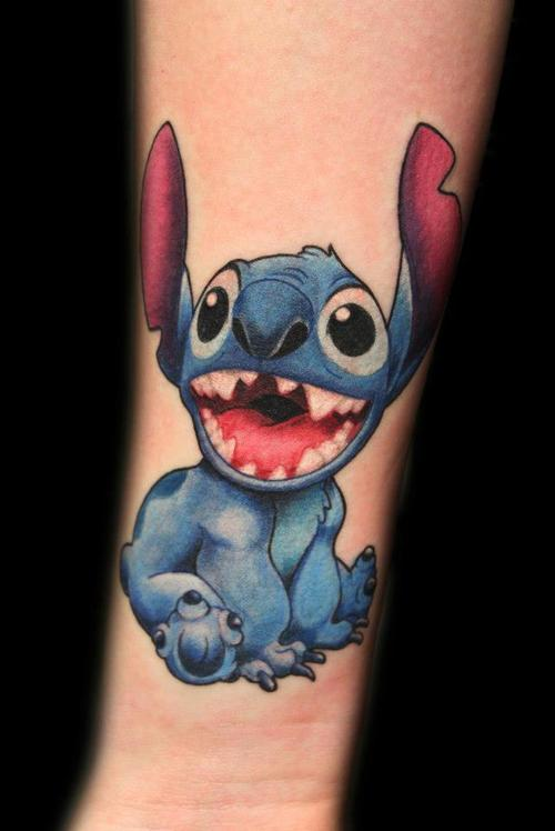 Awesome Stitch Tattoo Design For Forearm