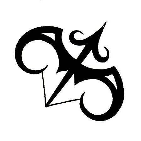 Classic Sagittarius Zodiac Symbol Tattoo Design