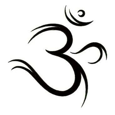 Cool Om Symbol Tattoo Design