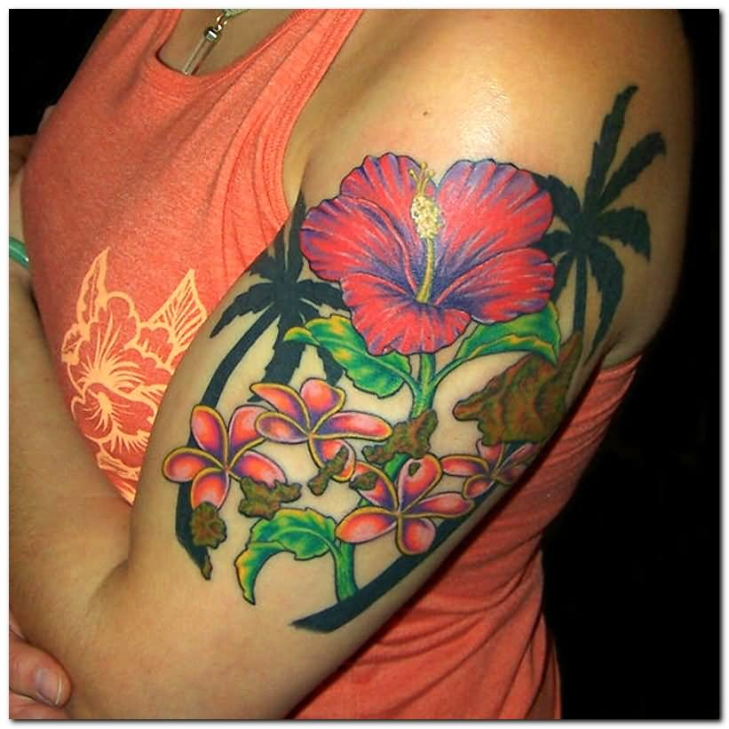50+ Beautiful Hibiscus Tattoos