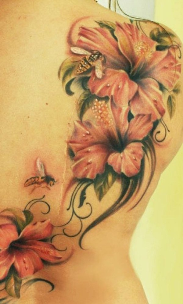 Small Hibiscus Tattoo: 50+ Beautiful Hibiscus Tattoos