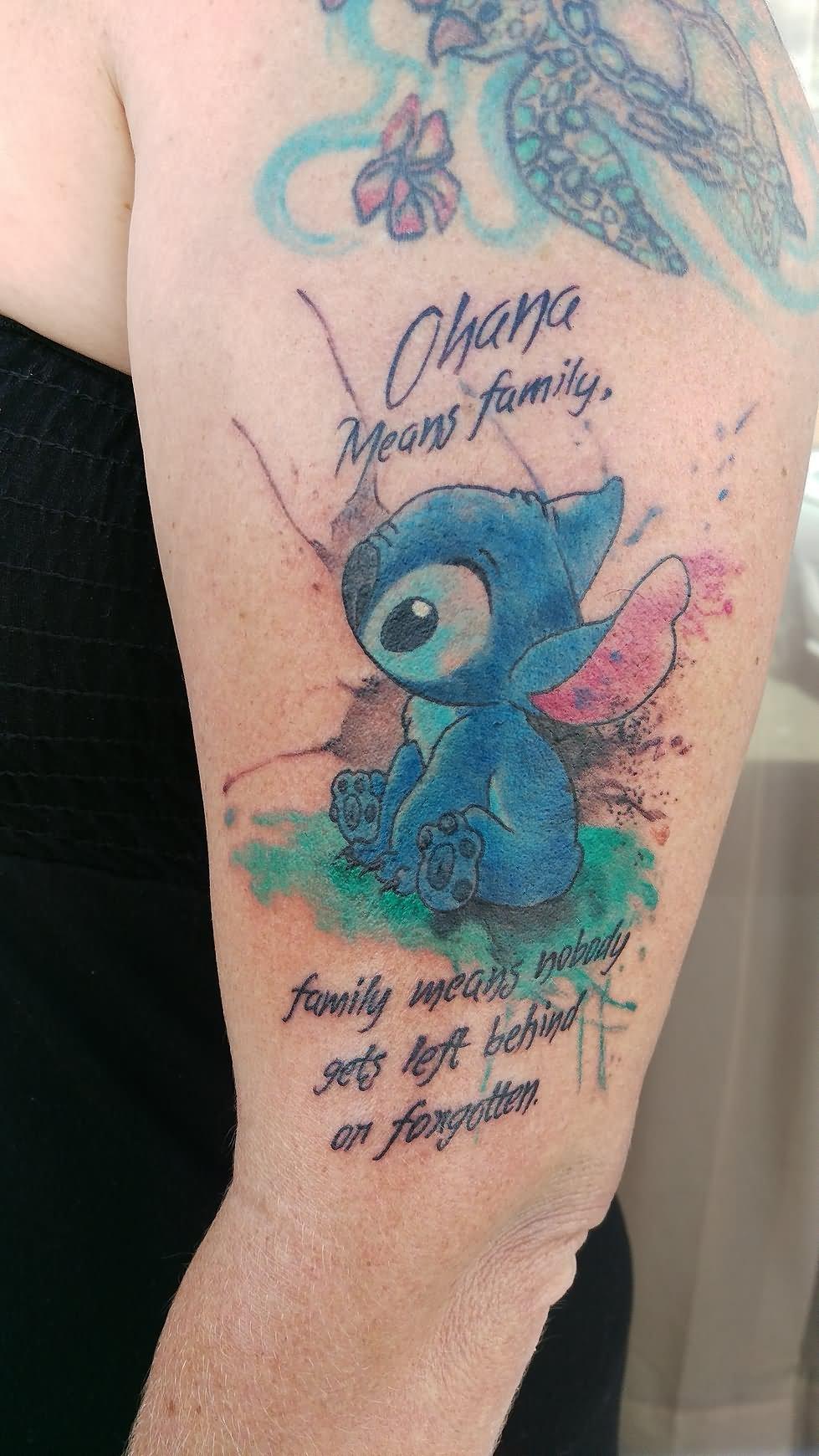 10 Amazing Stitch Tattoo Designs