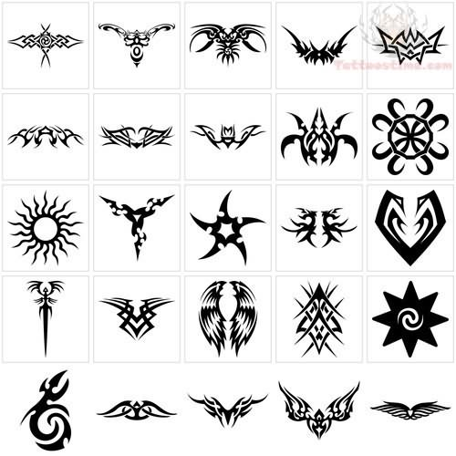 30 symbol tattoos for women for Tribal tattoos that represent family