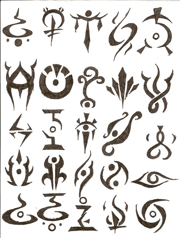 Cool Om Symbol Tattoo Design