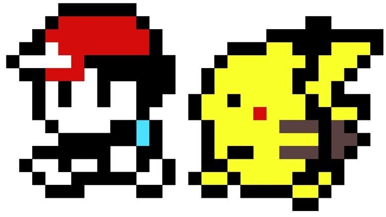8 Bit Ash and Pikachu  Funnyjunk  Funny Pictures Funny