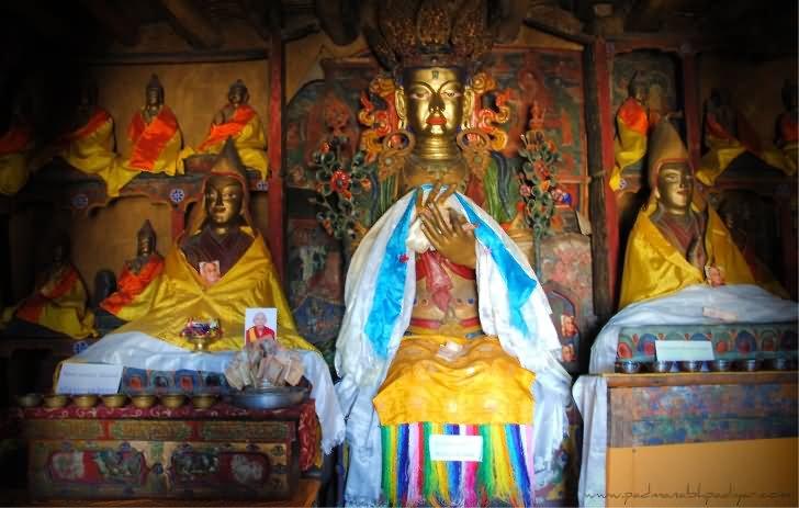 Kết quả hình ảnh cho Potala inside stupa