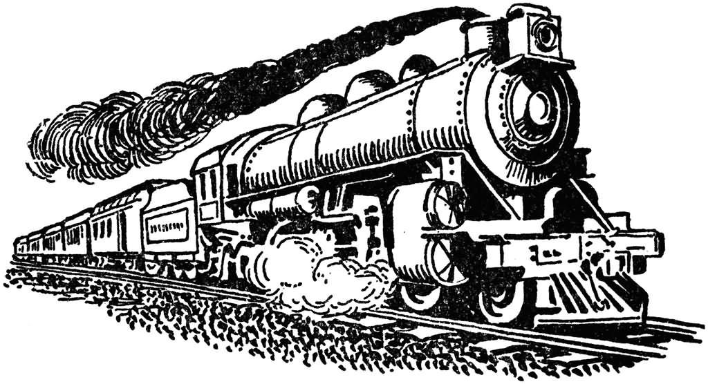 52+ Steam Train Tattoos