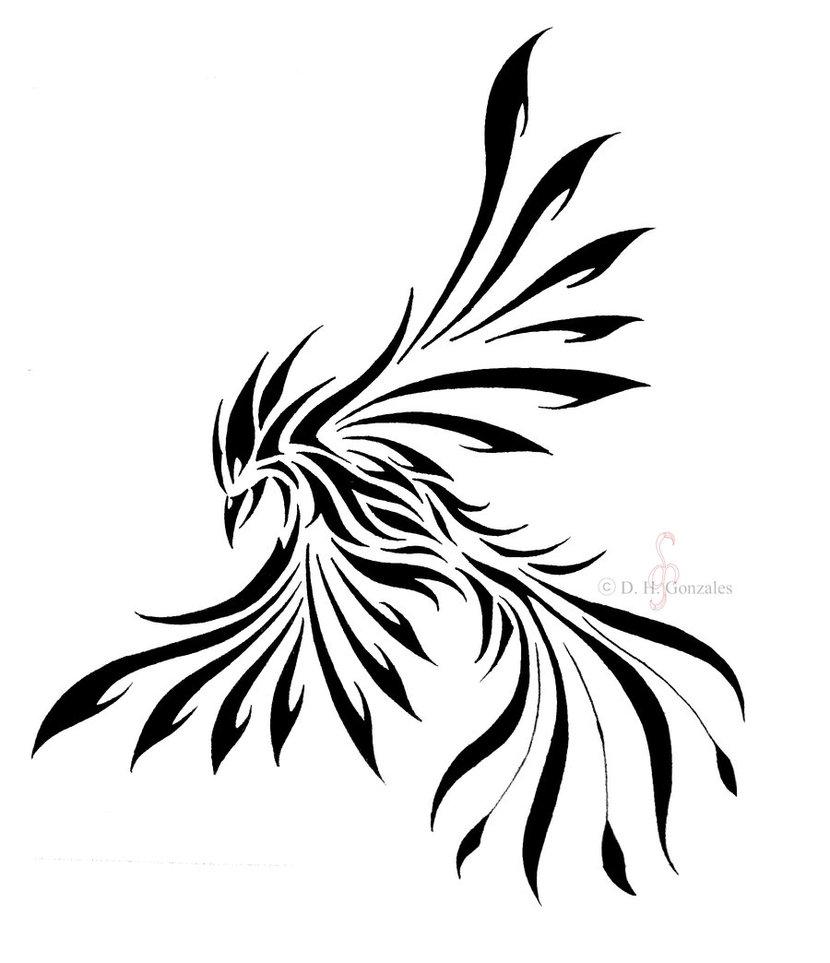 colorful phoenix tattoo design for front shoulder. Black Bedroom Furniture Sets. Home Design Ideas