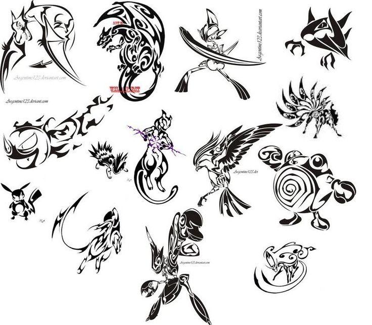 15+ Cool Pokemon Tattoo Designs