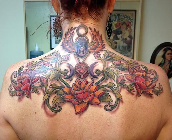 70+ Beautiful Upper Back Tattoos