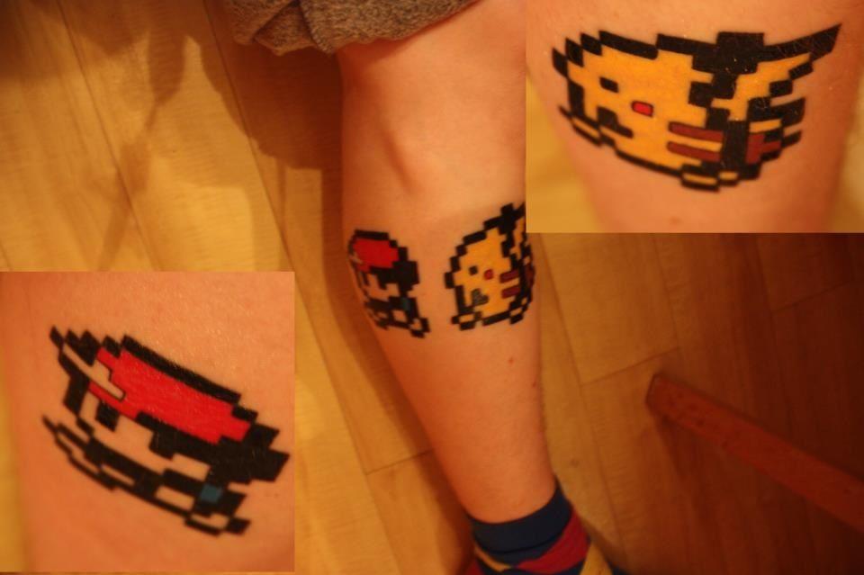29+ 8 Bit Pokemon Tattoos