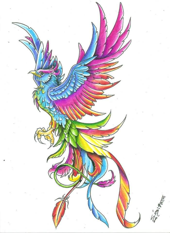 32 Latest Phoenix Tattoo Designs