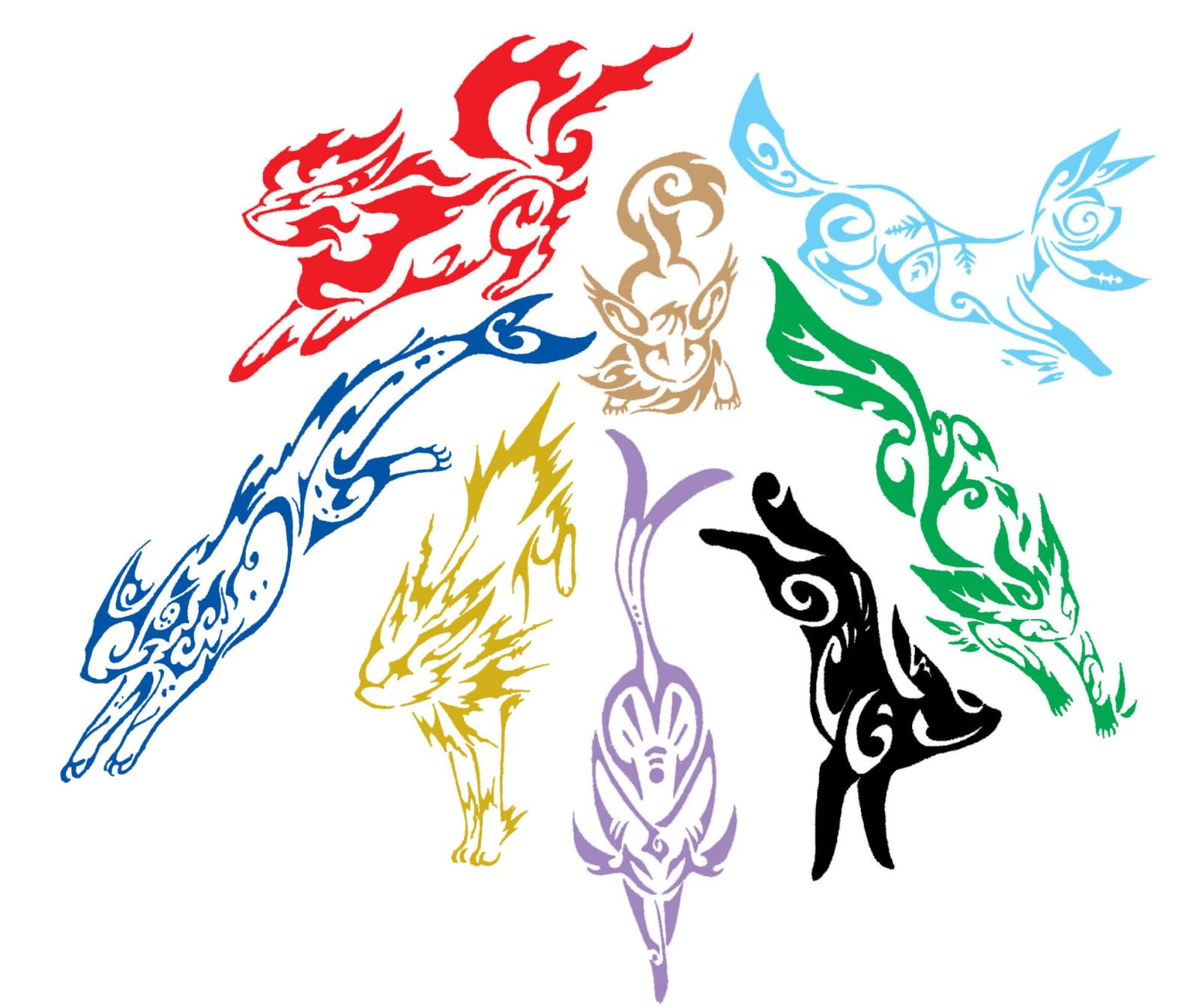 49+ Tribal Pokemon Tattoos Designs