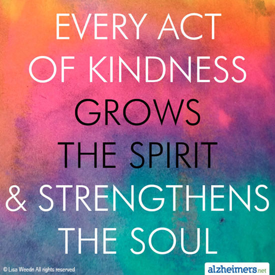 Quote About Kindness Awesome Every Act Of Kindness Grow The Spirit And Strengthens The Soul.